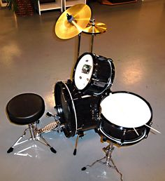 A little kid sized drum kit! Perfect for drumming all your holiday favorites! Pa rum pa pum pum!