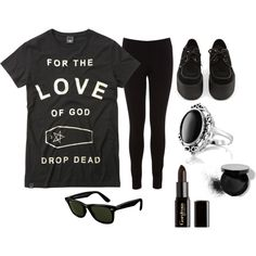 """Nu-Goth Inspired"" by ethan-murdo-maclean on Polyvore"