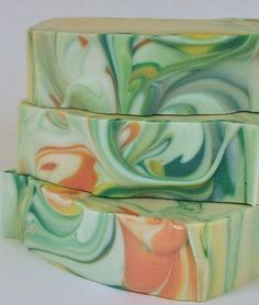 Bergamot Soap Handmade Cold Process Soap by PinkParchmentSoaps