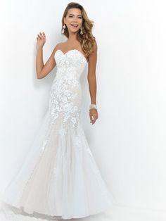 2015+Style+Trumpet/Mermaid+Sweetheart+Floor-length+Tulle+Prom+Dresses/Evening+Dresses+#QA539