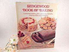 Sedgewood Book of Baking Cookbook Vintage 198e by TKSPRINGTHINGS