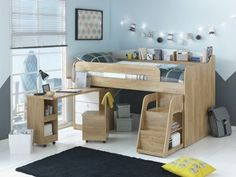 Buy Ultimate Storage Midsleeper Bed at Argos.co.uk, visit Argos.co.uk to shop online for Children's beds, Children's beds
