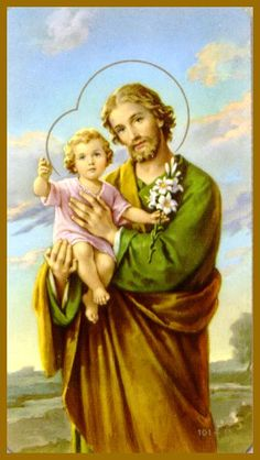 St. Joseph's Day  MARCH 19  St. Joseph, who is the patron saint of the family, is celebrated at the Spring equinox and his day is a feast of bread.  St. Joseph's feast day is still celebrated with gathering together to create enormous buffets for neighbors and friends.  The table overflows with an abundance  of food that the Father of the Holy Family provides.