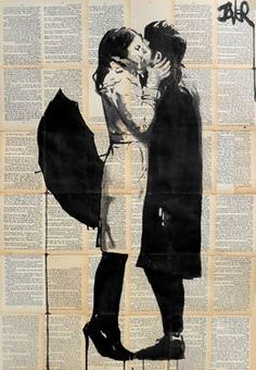 "Saatchi Art Artist Loui Jover; Drawing, ""one perfect day"" #art"