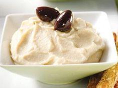 Ταραμοσαλάτα λευκή | Συνταγές - Sintayes.gr Greek Recipes, My Recipes, Greek Salad, Family Meals, Dips, Vegetarian Recipes, Food And Drink, Pudding, Ice Cream