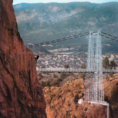 Royal Gorge, Visit Colorado, Beautiful Scenery, Tower Bridge, Brooklyn Bridge, Granite, North America, Attraction, Scale