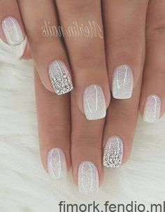 Want some ideas for wedding nail polish designs? This article is a collection of our favorite nail polish designs for your special day. Wedding Nails For Bride, Bride Nails, Wedding Nails Design, Nail Designs For Weddings, Wedding Gel Nails, Purple Wedding Nails, Winter Wedding Nails, Sexy Nails, Cute Nails