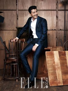 Cha Seung Won - 'Share Happiness' Campaign for Elle (Dec) Magazine!