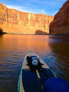 Standup Paddle Boarding in the Grand Canyon