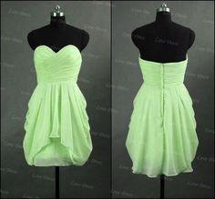 Simple Chiffon Short Prom Dress,Homecoming Dress,Mini Dress,Formal Dress,Short Dress,bridesmaid dress,party dress on Etsy, £70.90