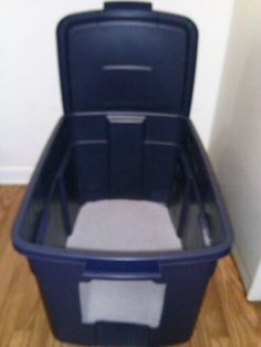 Yes This Really Is A Post About A Cat Litter Box Home