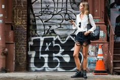 North Fashion: NEW YORK FASHION WEEK STREET STYLE SPRING SUMMER 2016 - NAJLEPSZE STYLIZACJE