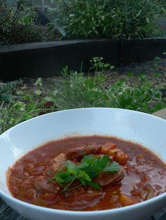 Chorizo & Sweet Potato Soup – The Foodee Project