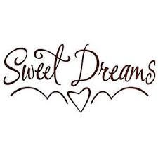 'Sweet Dreams' Wall Sticker