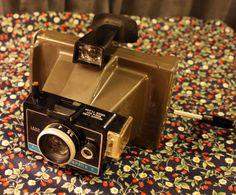 VTG Polaroid Land Camera ColorPack II Grey by thelittlekangaroo, $15.00