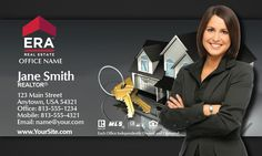 Business Cards for ERA Real Estate Agents