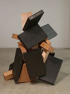 "joel shapiro | Above: Joel Shapiro's ""Twenty Six"" (2008), wood and casein…"
