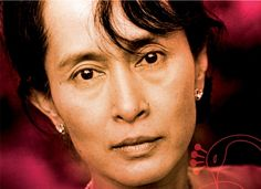 The fearless Aung San Suu Xyi, the eminent human rights activist who leads the charge against patriarchal autocracy in Myanmar (Burma).