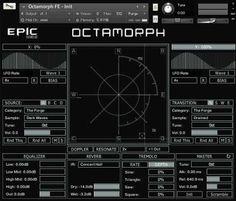 "off ""Octamorph FE"" by Epic Sound Lab Native Instruments, Signal Processing, Sound Design, Fes, Tool Design, Audio, Band, Sash, Bands"