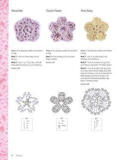 Gráfico Crochet flower
