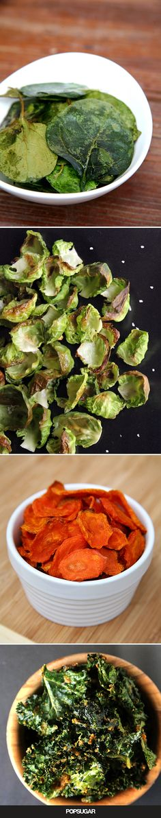 Low-Cal Veggie Chip Recipes That Aren't Just Kale