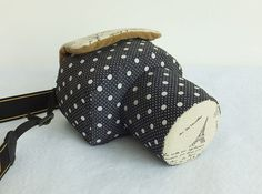 Don't like the pattern but this is the type of bag I want. Custom DSLR Camera Case Bag Polka Dotted and Patterned by PessyLee, $49.00