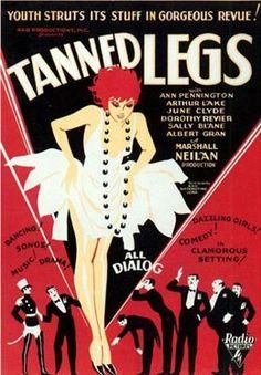 Art Deco: Tanned Legs, 1929