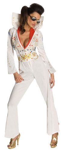 Sexy Elvis Costume - Fun way to rock out on Halloween