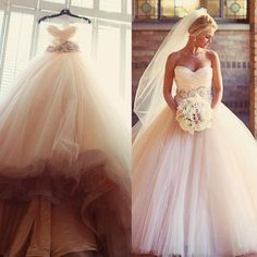 Charming Blush Pink Wedding Dresses 2016 Tulle Beaded Sash Flower Cheap A Line Sweetheart Sleeveless Country Bridal Dresses Ball Gowns Monique Wedding Dresses Online Shopping Wedding Dresses From Enjoylife007, $124.73| Dhgate.Com