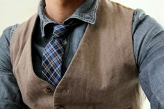 Digging the look, but really like that waistcoat!