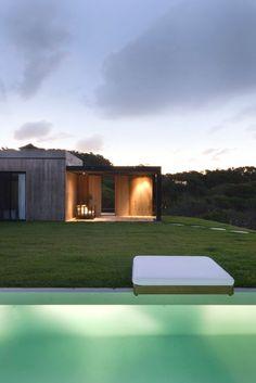 Contemporary timber and concrete beach house in Uruguay   Designhunter - architecture