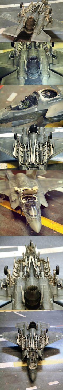 F-35B scaled model