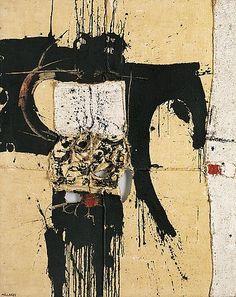 Manolo Millares-- Cuadro 51, 1955