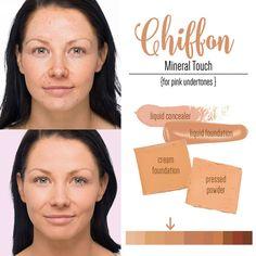 Younique Chiffon Liquid Powder Cream Foundation