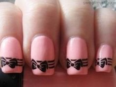 How cute are these nails? So doing them next.