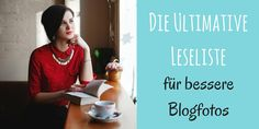 Wenn es um das Thema Bloggen & Blogfotos geht, gibt es wirklich viele Informationen. Ich lese sehr gerne richtige Bücher (zum Leid sämtlicher Umzugshelfer in meiner Vergangenheit). Aus dem Grunde habe ich für Dich heute verschiedene Leseempfehlungen zusammengestellt, mit denen die wichtigsten Bereiche rund um das Thema Bloggen und Blogfotos abgedeckt sind.