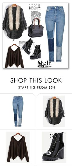 """SheIn 8/XI"" by nermina-okanovic ❤ liked on Polyvore featuring Topshop and shein"