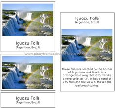 Famous Landmarks of South America. Click on picture to download.