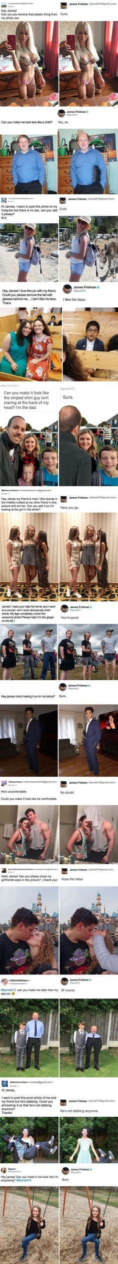 Funny Quotes : When You Asked The Photoshop Troll Master For Help… Funny Cute, Hilarious, Haha, Funny Photoshop, Images Gif, Funny People, Funny Posts, Best Funny Pictures, I Laughed