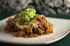 Taco Casserole ~ http://www.healthy-delicious.com