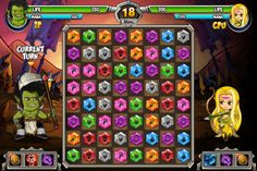 Play #JewelsHero. Become an epic warrior and defeat all your opponents using your wits and strategy.