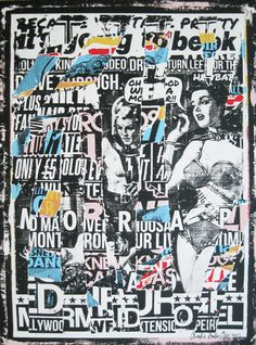 Collage Book, Collage Art Mixed Media, Punk Poster, Punk Art, Graphic Design Posters, Layout, Urban Art, Graphic Illustration, Vintage Posters