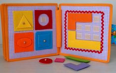 Quiet Book Busy Book Activity Book Educational Sensory Toy