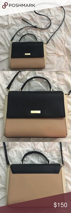 Kate Spade Colorblock Crossbody Excellent, like-new condition Kate Spade colorblock crossbody or satchel with removable, adjustable strap. Interior has two pouches in addition to zippered pocket. Gorgeous bag that completes any outfit. Only selling because I never use it! kate spade Bags