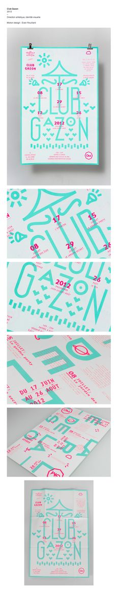 Club Gazon - www.supersuper.fr on Behance