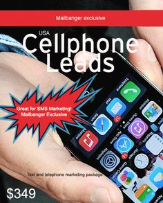 USA 15 Million Consumer Cell Phone numbers database - Premium Edition - Mailbanger Telephone, Marketing And Advertising, Numbers, Led, Phone