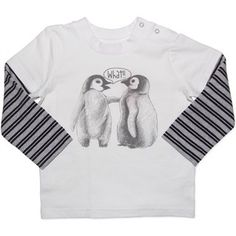Penguin LST. Sizes 0 and 1. NOW JUST $8 Baby Penguins, Size 00, Long Sleeve Shirts, Boys, Clothing, Sweaters, Fashion, Baby Boys, Outfits
