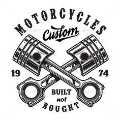 Wandtattoo-Aufkleber-Motorrad-Biker-Chopper-Harley-Motiv