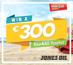 Giveaway - WIN A €300 One4All Voucher!