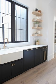 The Forest Modern: Kitchen Q & A - The House of Silver Lining Kitchen Design Small, Cottage Kitchens, Contemporary Kitchen, Kitchen Design, Home Decor Kitchen, Home Decor, Kitchen Style, Modern Farmhouse Kitchens, Modern Kitchen Design
